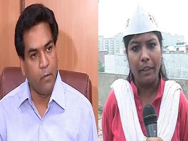 राज्यसभा चुनाव: AAP के सुशील गुप्ता के खिलाफ संतोष कोली की मां को उतारेंगे कपिल मिश्रा