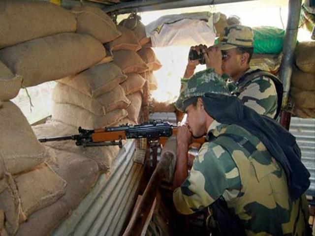 नौशेरा सेक्टर में पाकिस्तान ने एक बार फिर संघर्ष विराम का उल्लंघन किया, 1 घायल