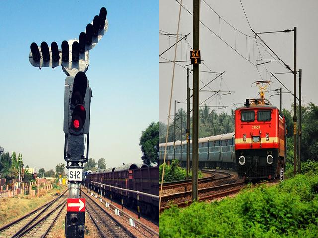 रेलवे:जल्द ख़त्म हो जायेगी वर्षों से चल रही लाल और हरे सिग्नल की व्यवस्था