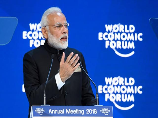 वर्ल्ड इकनॉमिक फोरम: कारोबारियों के लिए भारत का द्वार हमेशा खुला है- पीएम नरेंद्र मोदी