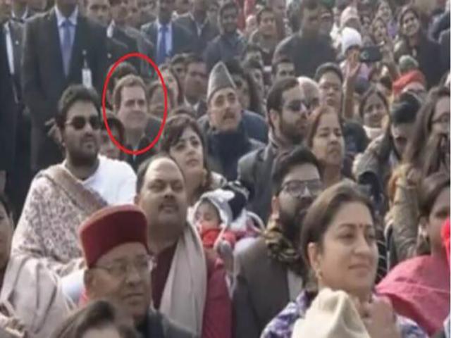 चौथी की बजाय छठी कतार की सीट में क्यों बैठाया गया राहुल गाँधी को,जाने क्या थी वजह