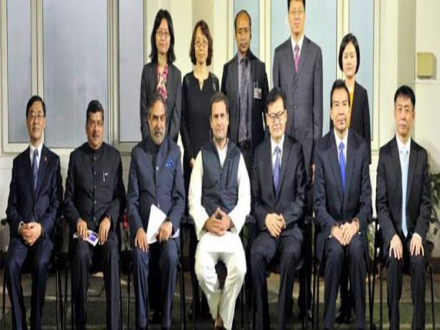 चीनी कम्युनिस्ट पार्टी के नेताओं से मिले राहुल गांधी, ट्विटर पर शेयर की तस्वीरें