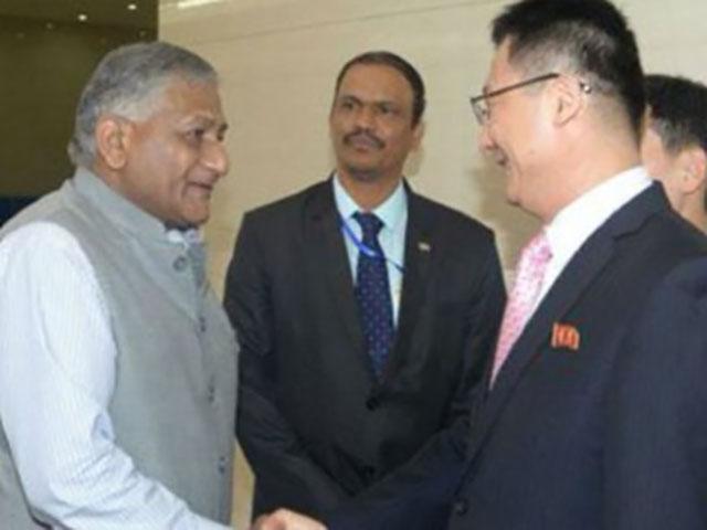 20 साल में पहली बार उत्तर कोरिया में उच्चस्तरीय वार्ता के लिए पहुंचे भारतीय मंत्री