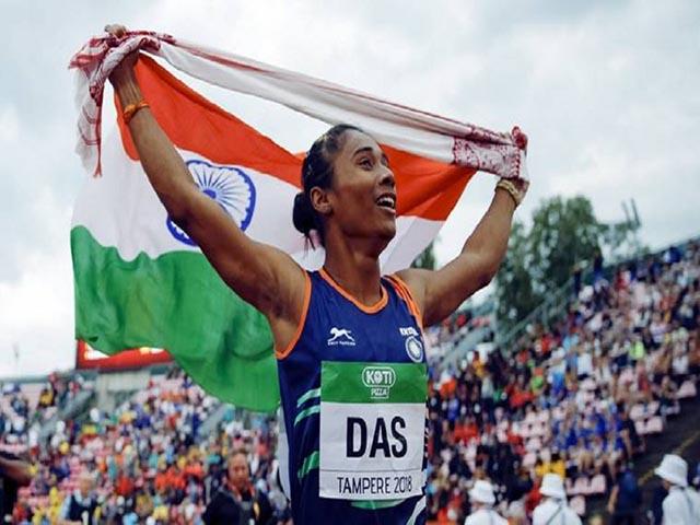 असम की स्पोर्ट्स एम्बेसेडर बनेंगी हिमा दास, मुख्यमंत्री ने किया ऐलान
