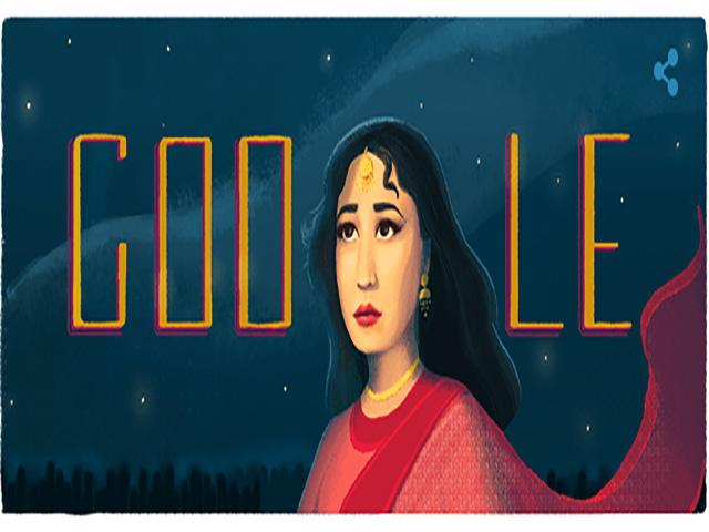 Google Doodle पर छाईं 'ट्रेजेडी क्वीन', 85वें जन्मदिन पर मीना कुमारी को किया याद